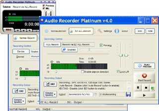 Download Audio Recorder Platinum