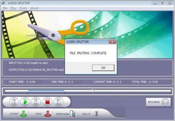 Download Audio Splitter Tool