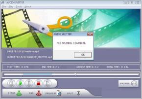 Download Audio Splitter Utility