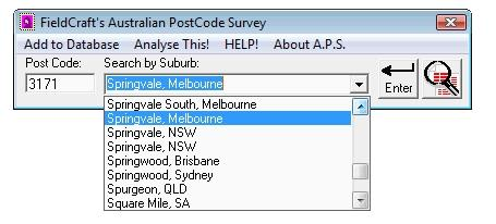 Download Australian Postcode Survey