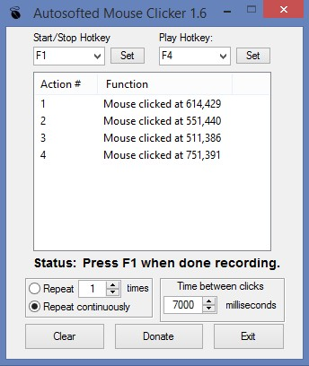 Download Auto Mouse Clicker by Autosofted