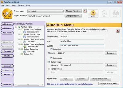Download AutoRun Architect