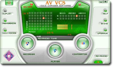 AV Voice Changer Software