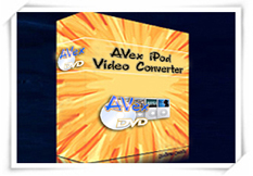 avex ipod video converter for newavsoft