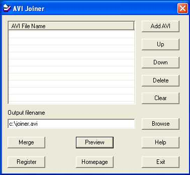 Download AVI Joiner