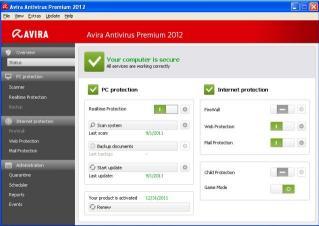 Download Avira Antivirus Premium 2012