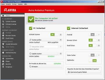 Download Avira Antivirus Premium 2013