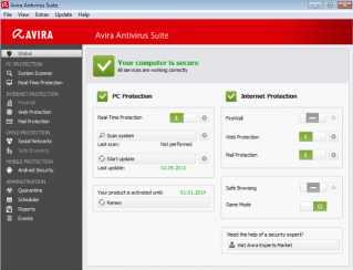 Download Avira Antivirus Suite