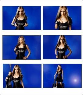 Download Avril Lavigne Blondie Screensaver