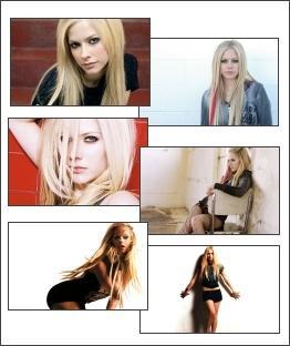 Download Avril Lavigne Gorgeous Screensaver