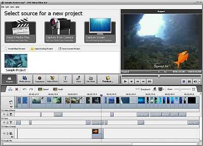 AVS Video Editor by Online Media Technologies