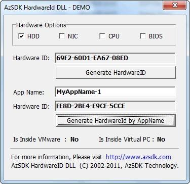 Download AzSDK HardwareID DLL