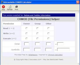 Download Babies Toddler CHMOD Calculator
