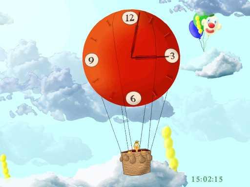 Balloon Clock ScreenSaver
