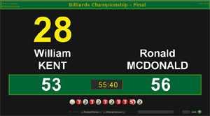 BallStream Billiards Scoreboard