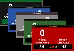 BallStream Matchplay Scoreboard