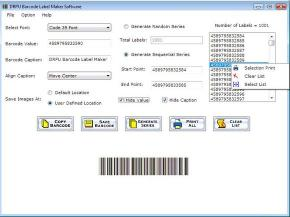 Download Bar Code Labels Maker