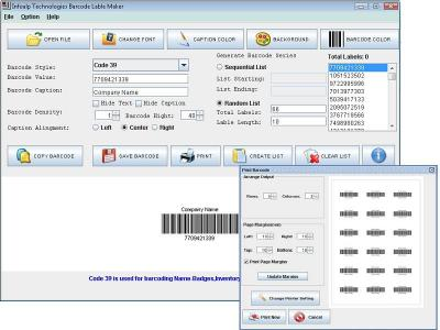 Download Barcode Label Printing Software