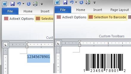 BarCodeWiz Barcode ActiveX Control - standaloneinstaller com