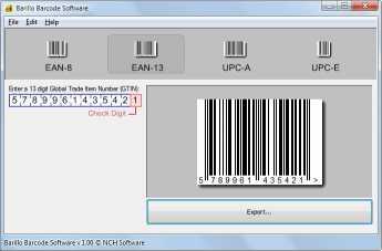 Download Barillo Barcode Software