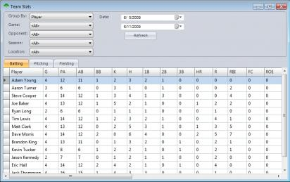 Download Baseball Stat Manager