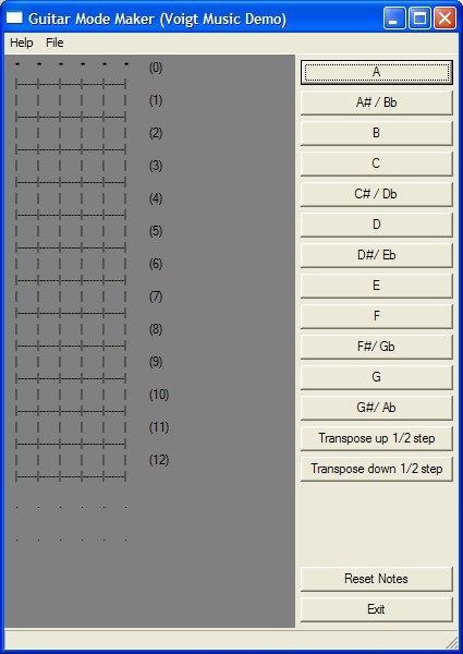 Download Bass Guitar Mode Maker