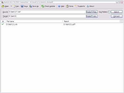 Download Batch Excel to PDF Converter