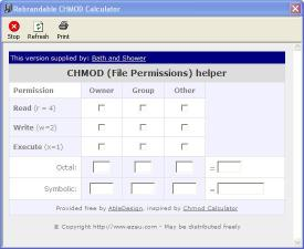 Download Bath and Shower CHMod Calculator