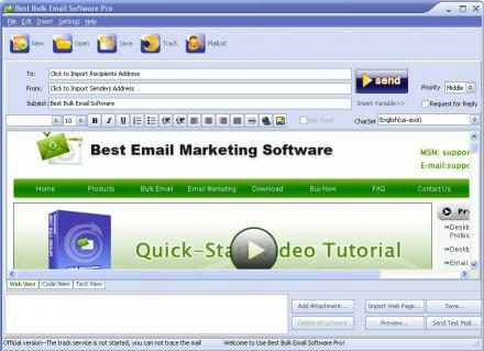 Download BBmail Email Marketing Software