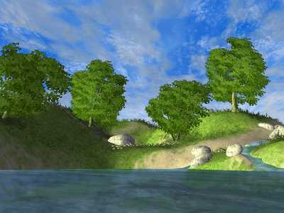 Download Beautiful Forest Lake 3D Screen Saver