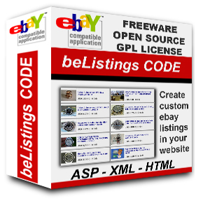 BeListings Free eBay Software