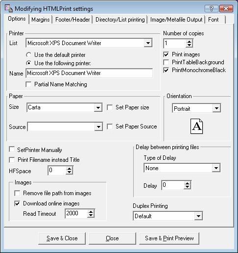 Download Bersoft HTML Print