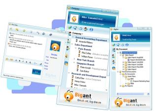 Download BigAntAnt LAN Messenger