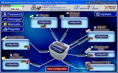Download Bill Redirect Serial-File-TCP Port & KB