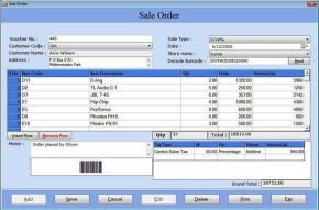 Download Billing Management with Barcode