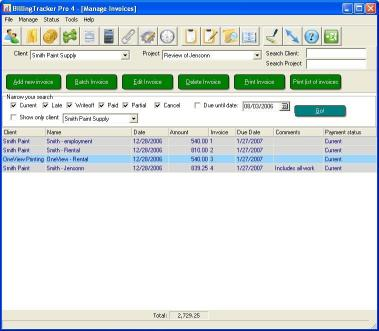 Download BillingTracker Pro Invoice Software