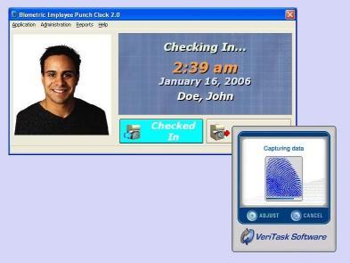 Download Biometric Employee Time Clock