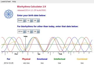 Download Biorhythms Calculator