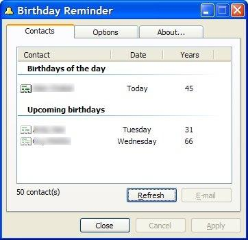 Download Birthday Reminder
