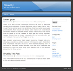 Biruality WordPress Theme