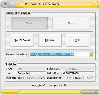 Download BitComet Ultra Accelerator