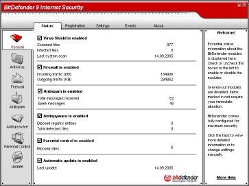 Download BitDefender 9 Internet Security