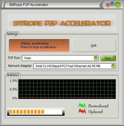 BitRope P2P Accelerator