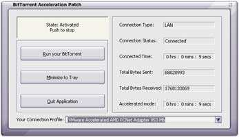 Download BitTorrent Acceleration Patch