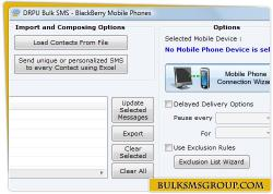 Download BlackBerry Group SMS Software