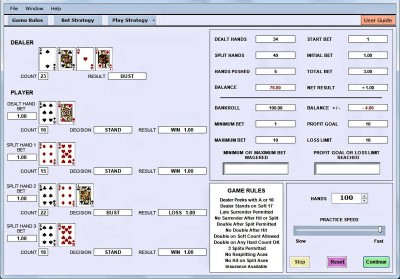 Download Blackjack System Trainer