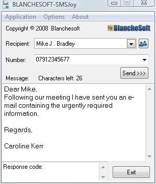 Download BLANCHESOFT SMSJoy