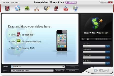BlazeVideo iPhone Flick Platinum