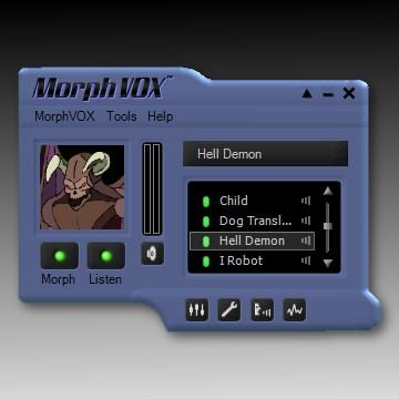 Download Blue Satin Skin - MorphVOX Add-on