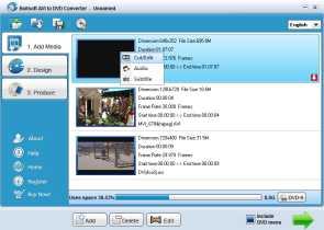 Boilsoft AVI to DVD Converter